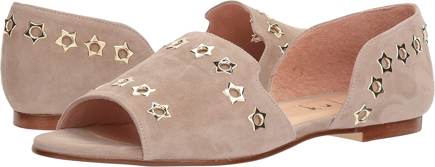 French Sole Womens Whistle 2 B076NZ7ZVB 7.5 B(M) US Taupe Suede