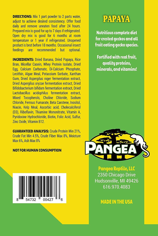 2 oz Pangea Banana//Papaya Fruit Mix Completo Crested Gecko