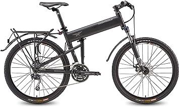 Montague Paracaidista bicicleta plegable + libre Pro! Montague ...