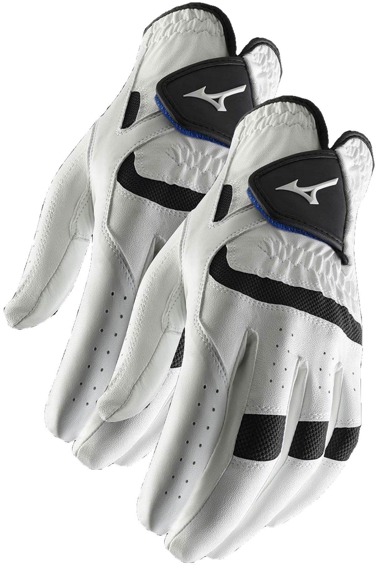 2 NEW Mizuno Elite Mens Golf Gloves Medium Regular Left Hand M 2016