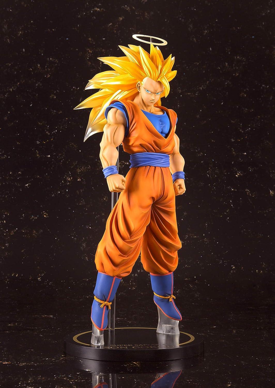 New Dragonball Z Super Saiyan 3 Son Goku Action Figure Resin Figuarts Zero Gift