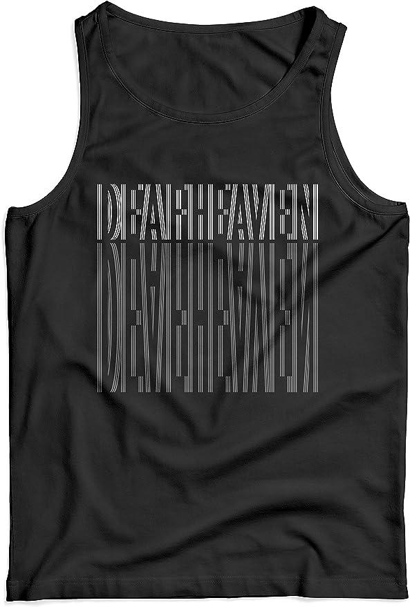 LaMAGLIERIA Camiseta de Tirantes Hombre Deafheaven01-100% algodón: Amazon.es: Ropa y accesorios