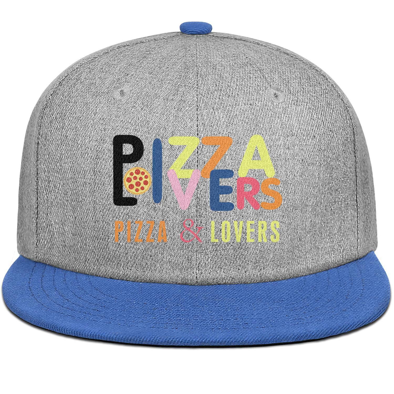 Newpz Pizza Lovers Mens Women Wool Baseball Cap Adjustable Snapback Dad Hat