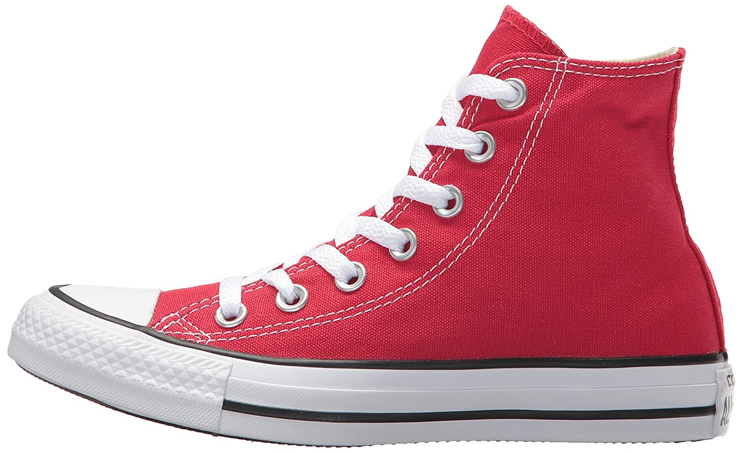 Converse Chuck Top Taylor All Star High Top Chuck B008JGMVRM 11.5 US Men/13.5 US Women|Red 285c00