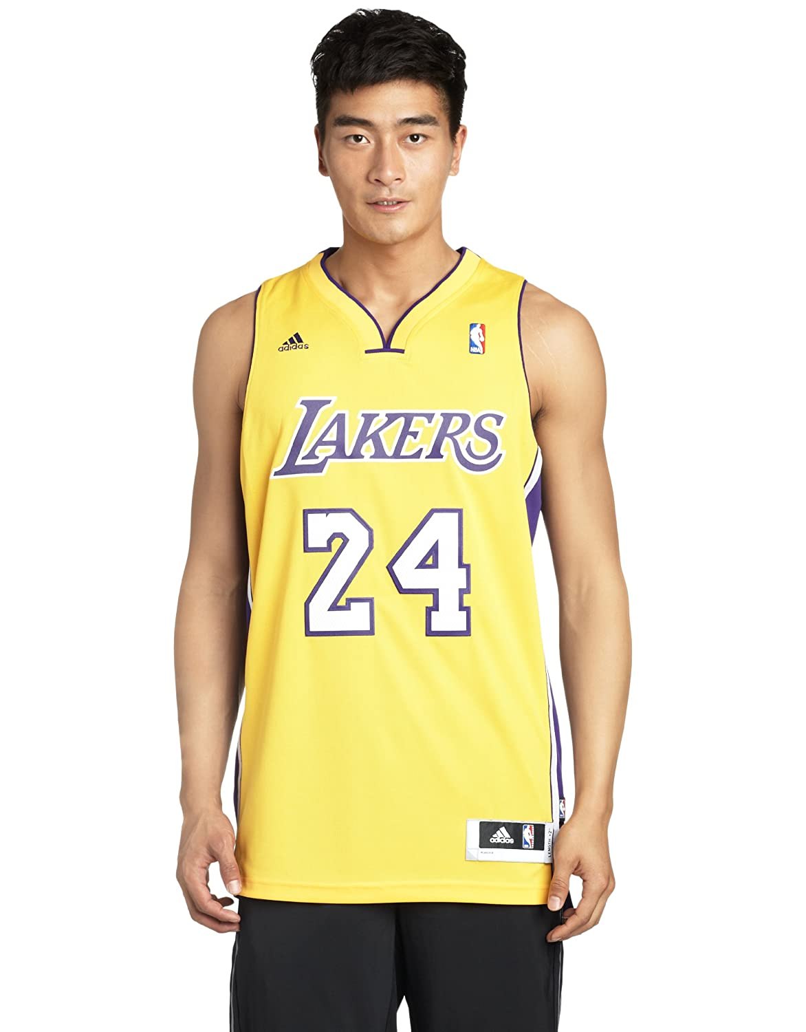 adidas NBA Kobe Bryant Los Angeles Lakers Swingman Jersery ...