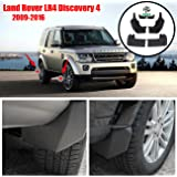 CAT500010PCL Front /& Rear Molded Splash Guards Mud Flaps CAS500010PCL AoChuang LR3 Discovery 3 2005-2009