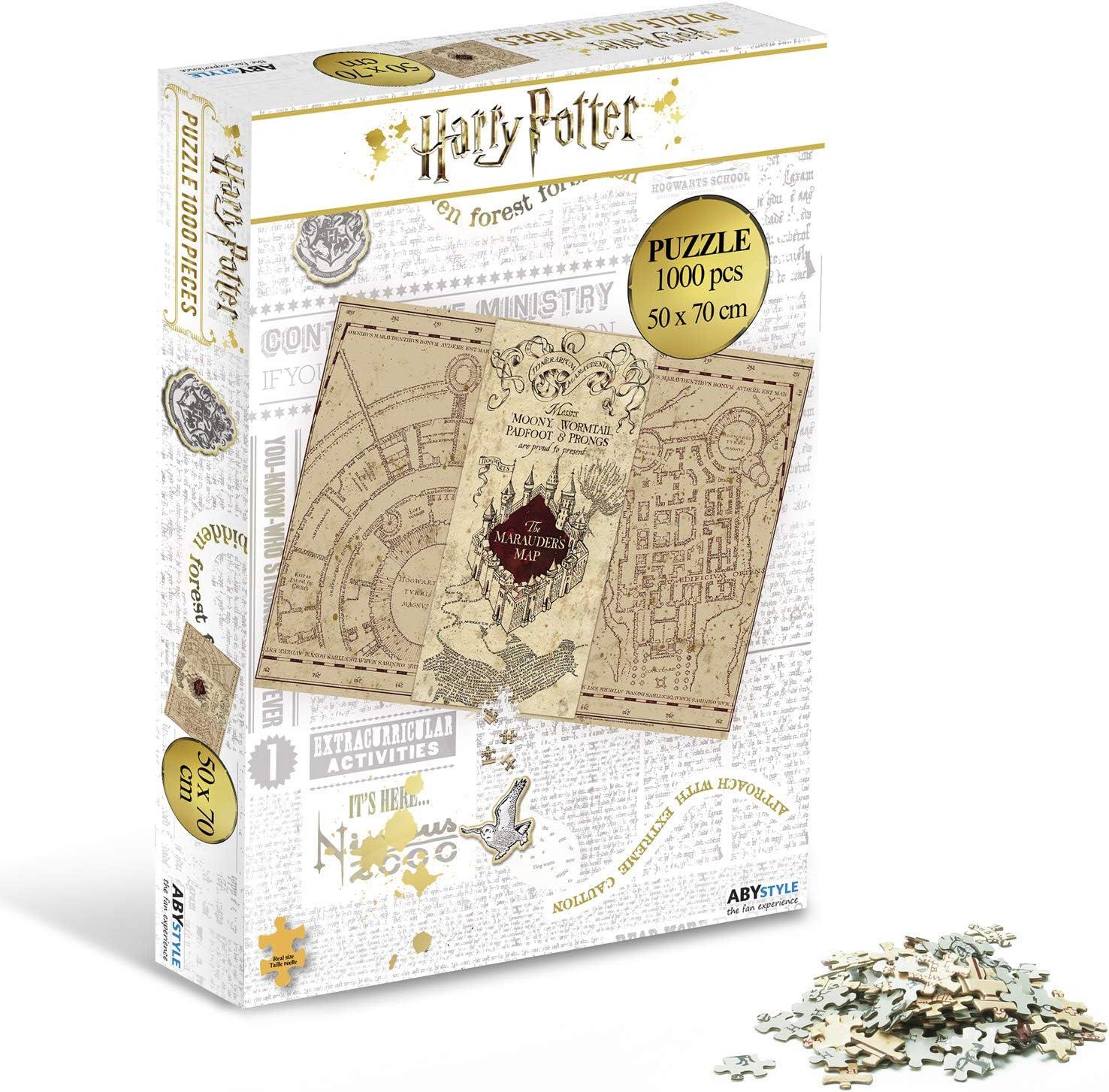 Puzzle Harry Potter ABYstyle Carte de Maraudeur