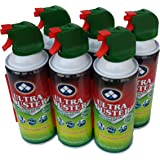 Ultra Duster Canned Air Net 10 Oz 6-Pack