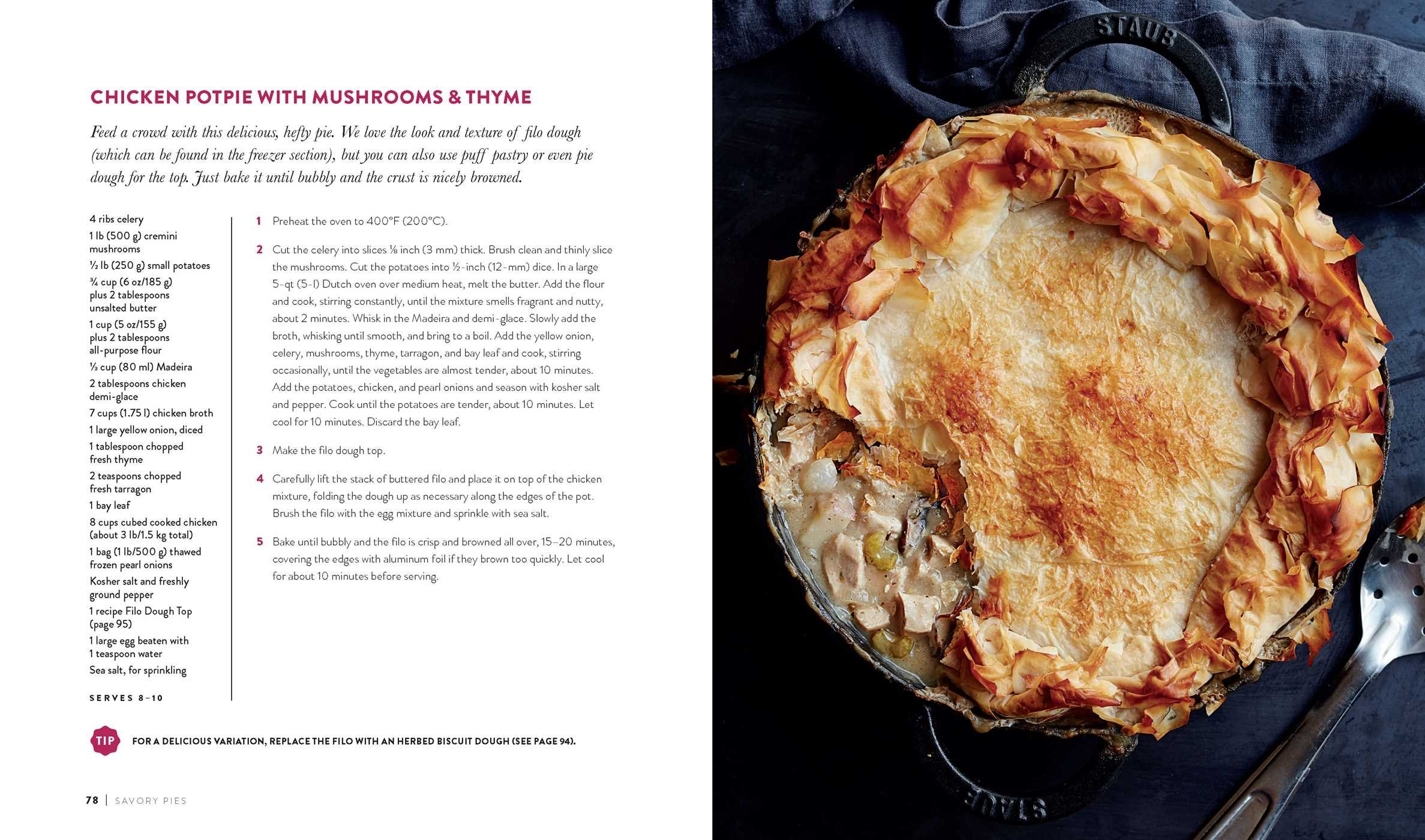 The Pie Cookbook: Delicious Fruit, Special, & Savory Treats:  Williams-Sonoma Test Kitchen: 9781681881577: Amazon.com: Books