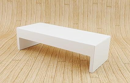 Amazon Com Melody Jane Dollhouse Modern White Coffee Table