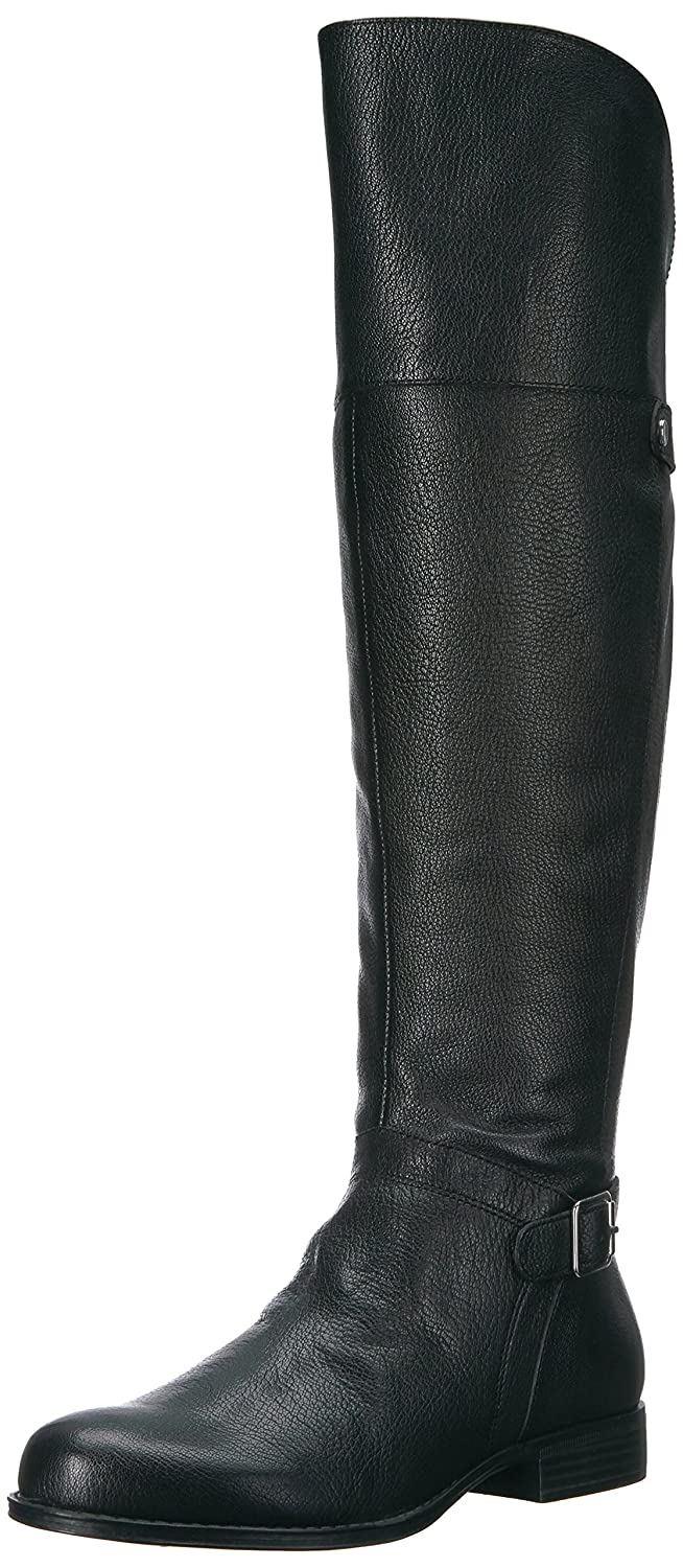 Naturalizer Women's January Riding Boot B06XC73T7B 6 B(M) US|Black