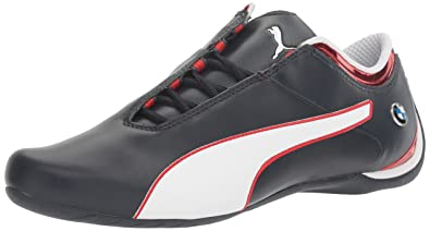 PUMA Men's Bmw MS Future Cat MU Walking Shoe, Team Blue-High Risk Red