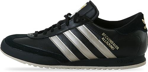 Parecer caja Anestésico  adidas Beckenbauer All Round Black/Gold M17898 for Men: Amazon.co.uk: Shoes  & Bags