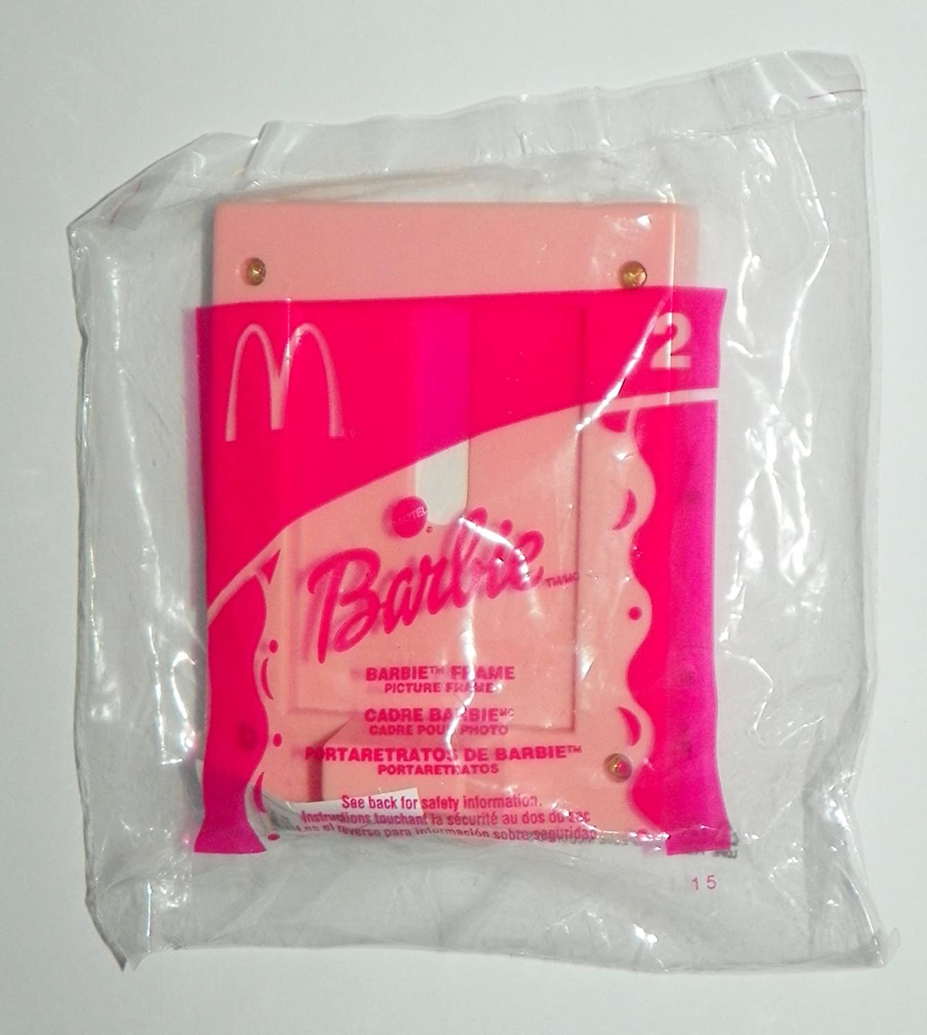 Amazon.com : McDonalds ~ BARBIE #2 ~ PICTURE FRAME ~ 2002 : Everything Else