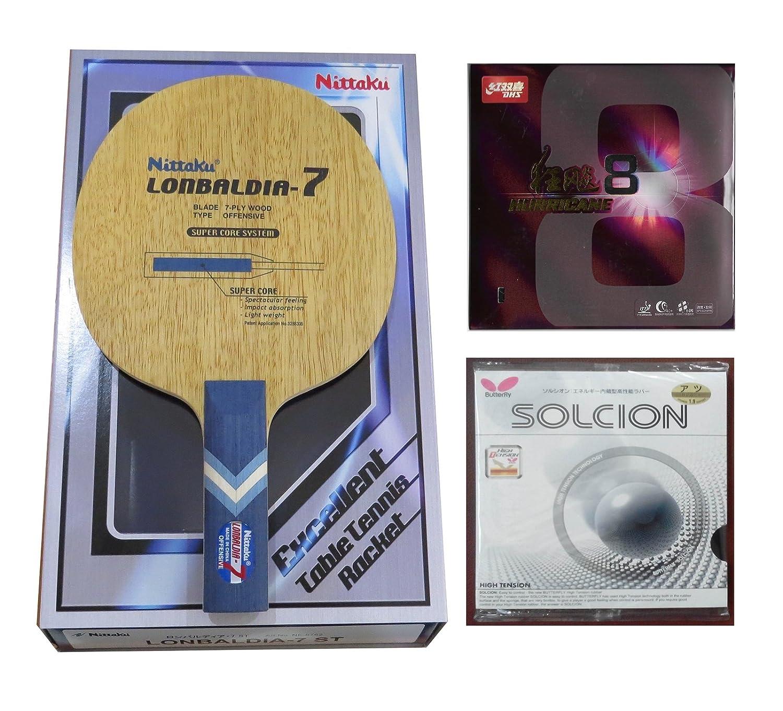Nittaku lonbaldiaテーブルテニスラケット< Expedite配送オプション> B01CT0S6U4