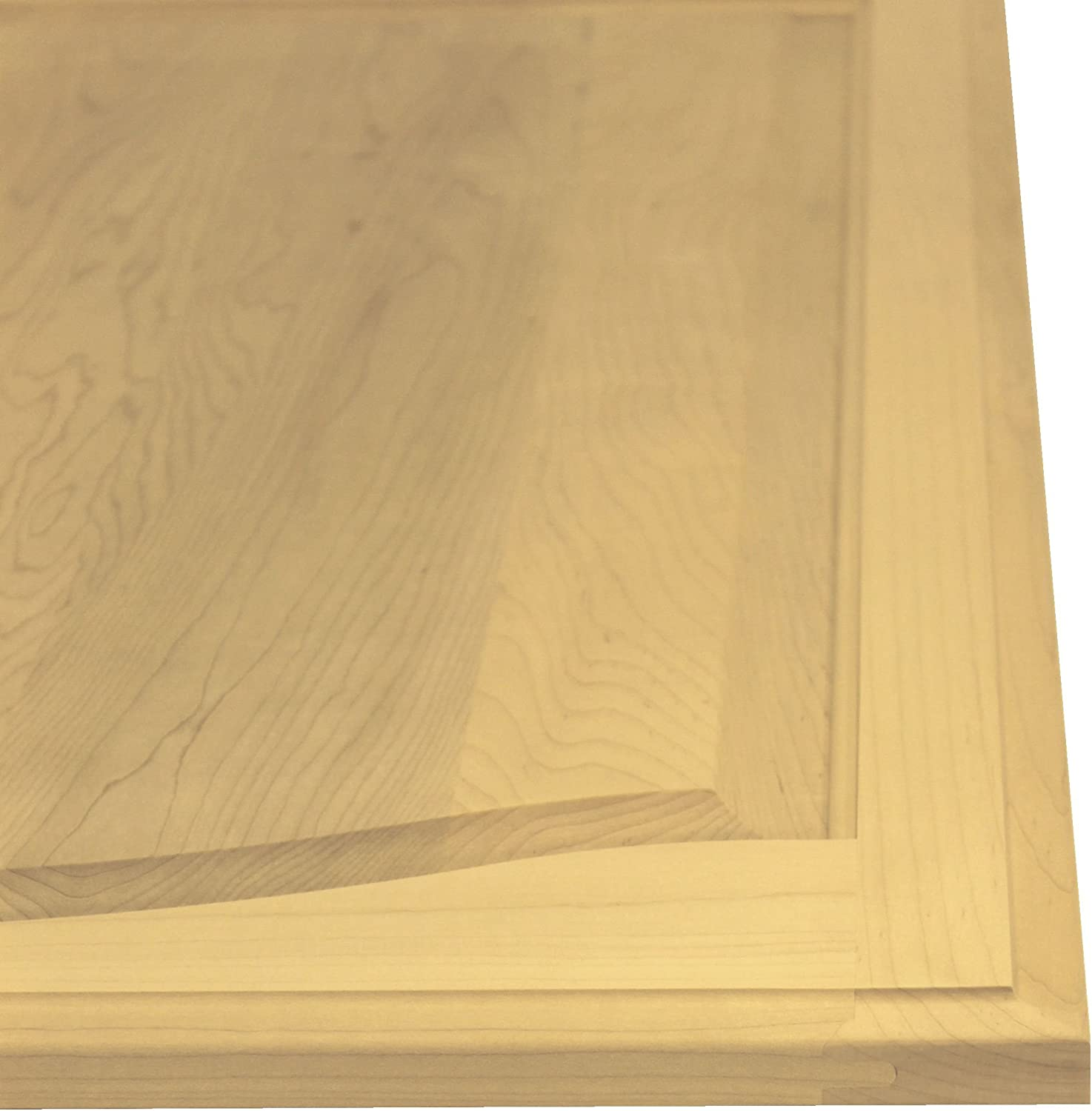22 High x 22 Wide Unfinished Maple Arch Top Cabinet Door by Kendor