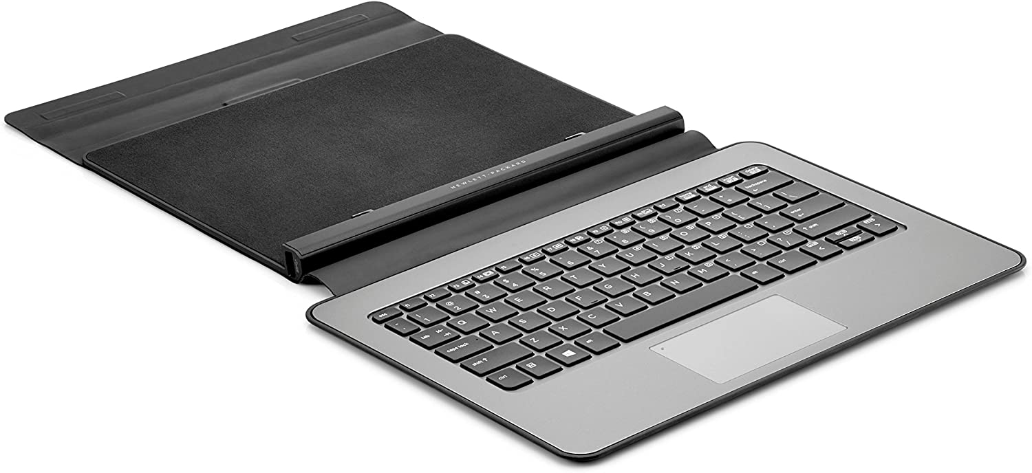 HP Pro x2 612 Travel Keyboard - Docking Connectivity - Docking Port InterfaceClickPad - Compatible with Tablet - G8X14AA#ABA