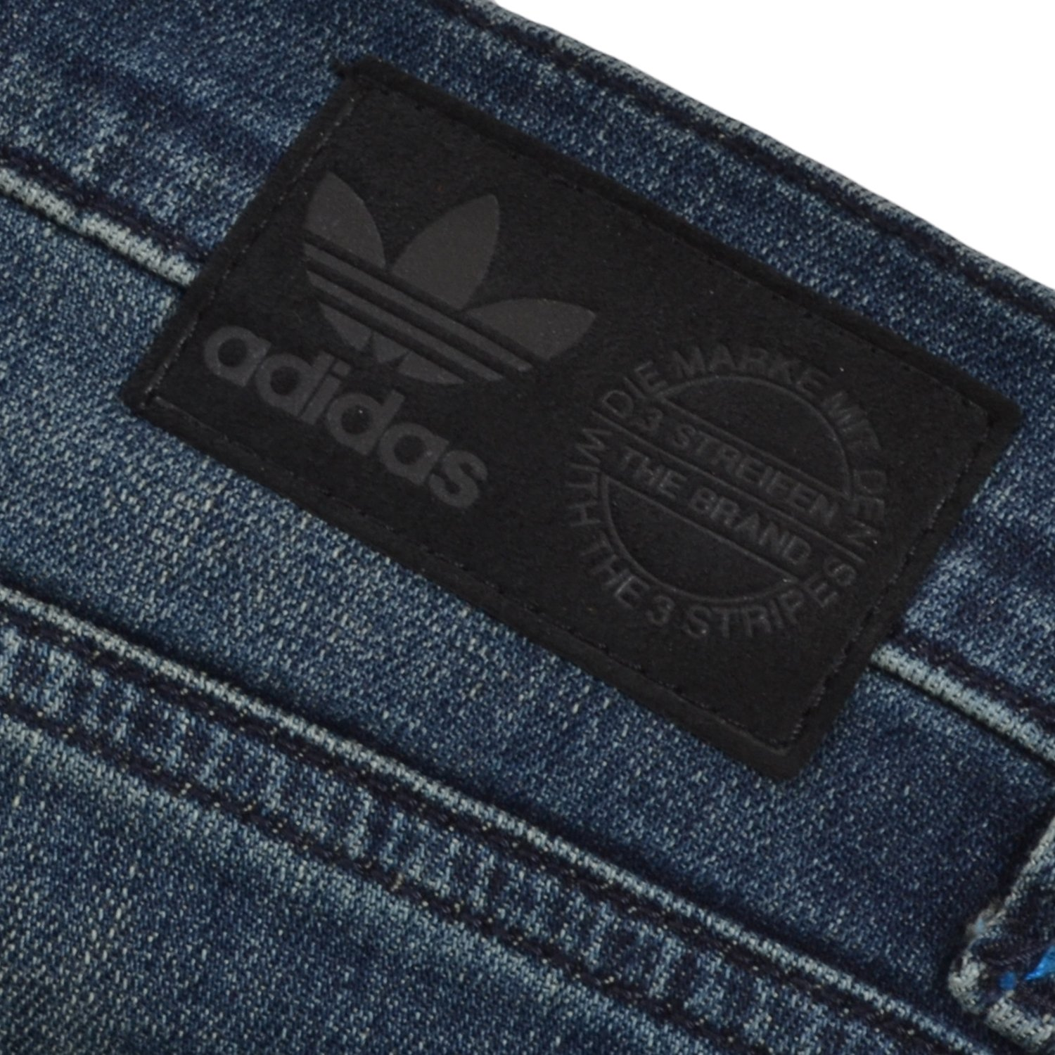 adidas Originals para Hombre Skinny Fit Denim Jeans Azul ...