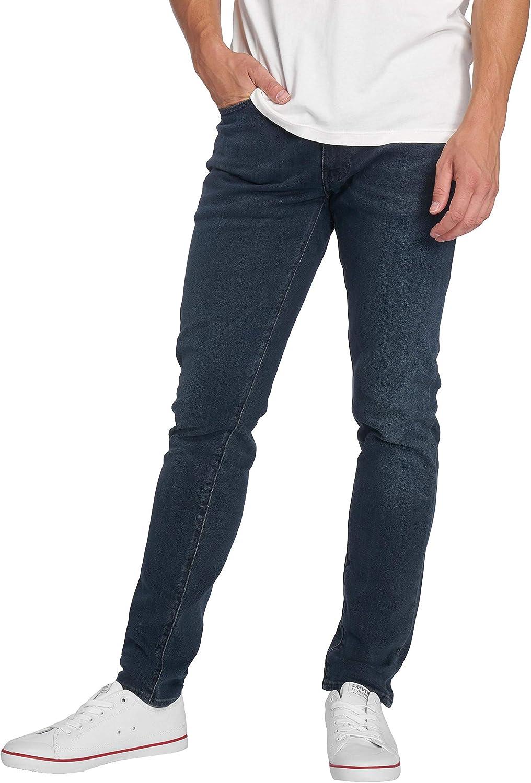 TALLA 28W / 32L. Levi's Hombre 512 Slim Taper Jeans, Azul