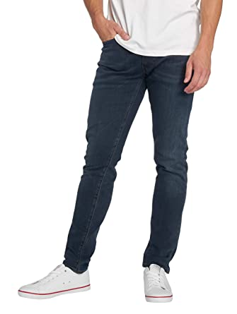0f06f98075d Levi's 512 Original Midnight Blue Slim Tapered Fit Jeans at Amazon Men's  Clothing store: