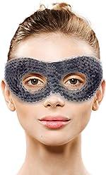 Gel Eye Mask with Eye Holes- Hot Cold Compress Pack Eye