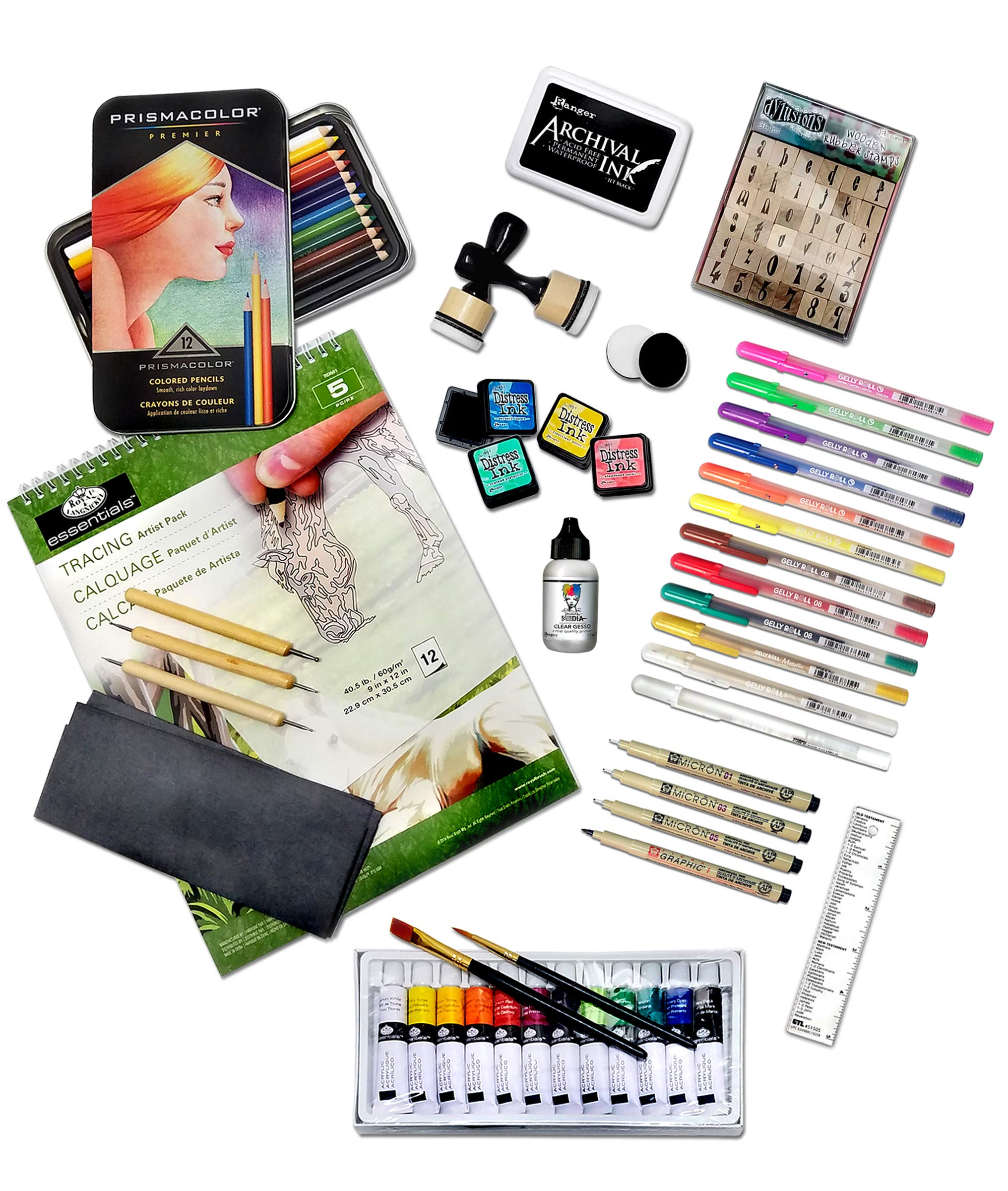 Deluxe Bible Journaling Kit by G.T. Luscombe Company, Inc.