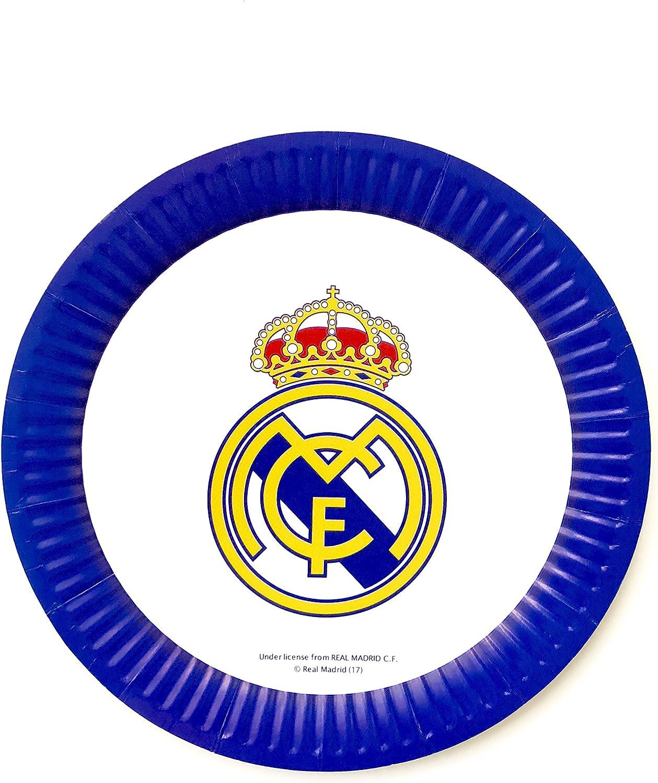 Amazon.com: Real Madrid F.C. – Decoración de la fiesta de ...