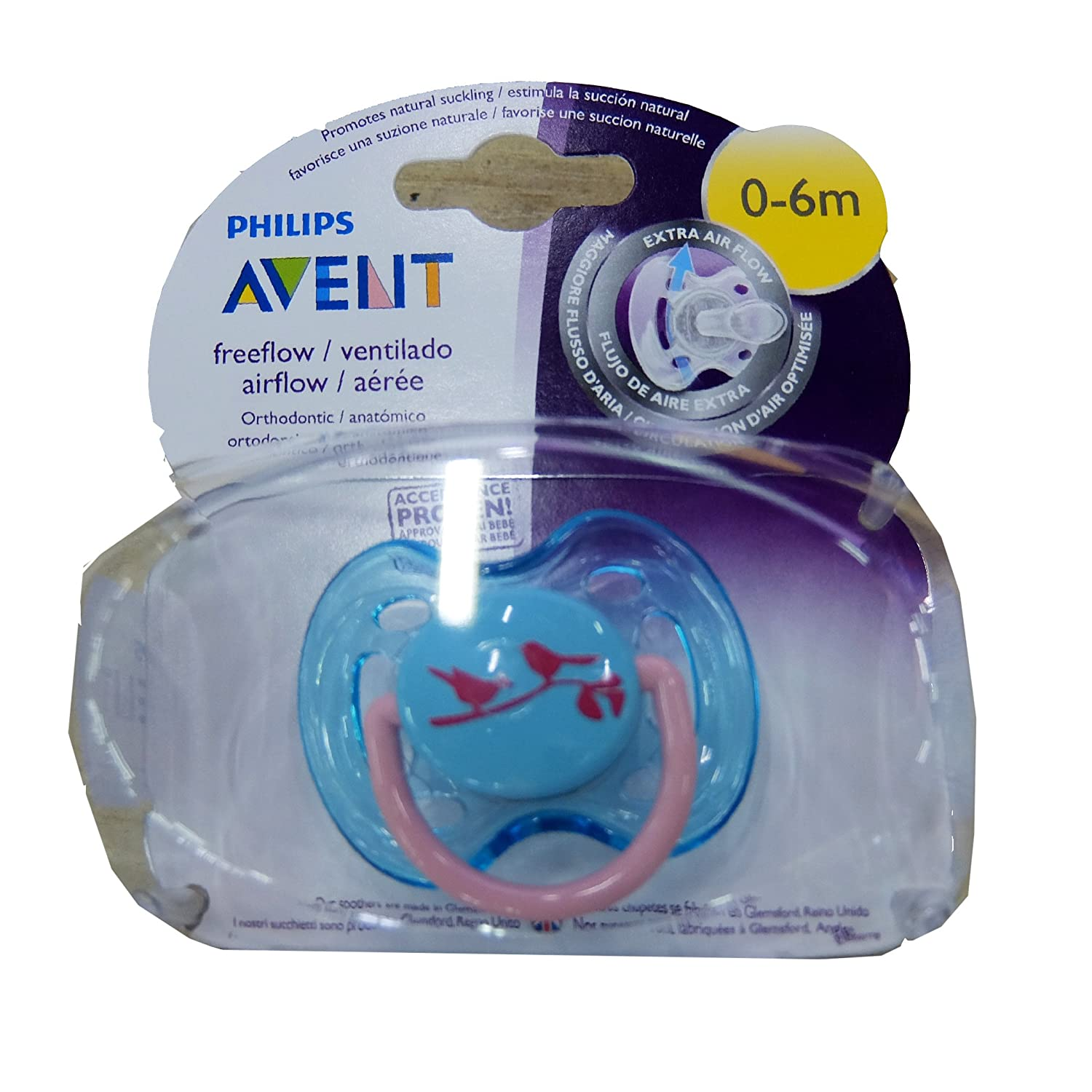 Amazon.com: Philips Avent - SCF172/13 - Sucette ...