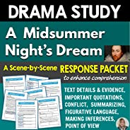 Drama Study: A Midsummer Night's Dream - Student Response Packet (Standards Aligned)