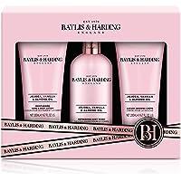 Baylis & Harding Jojoba, Vanilla & Almond Oil 3 Piece Set (Packaging may vary)