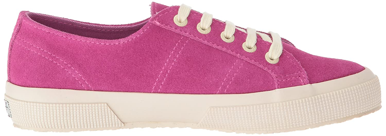 Superga Women's 2750 Suecotlinw Sneaker B077XL42KH 37 M EU (6.5 US)|Raspberry Suede