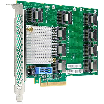 Amazon com: HP 727250-B21 12GB SAS Expander Card Storage