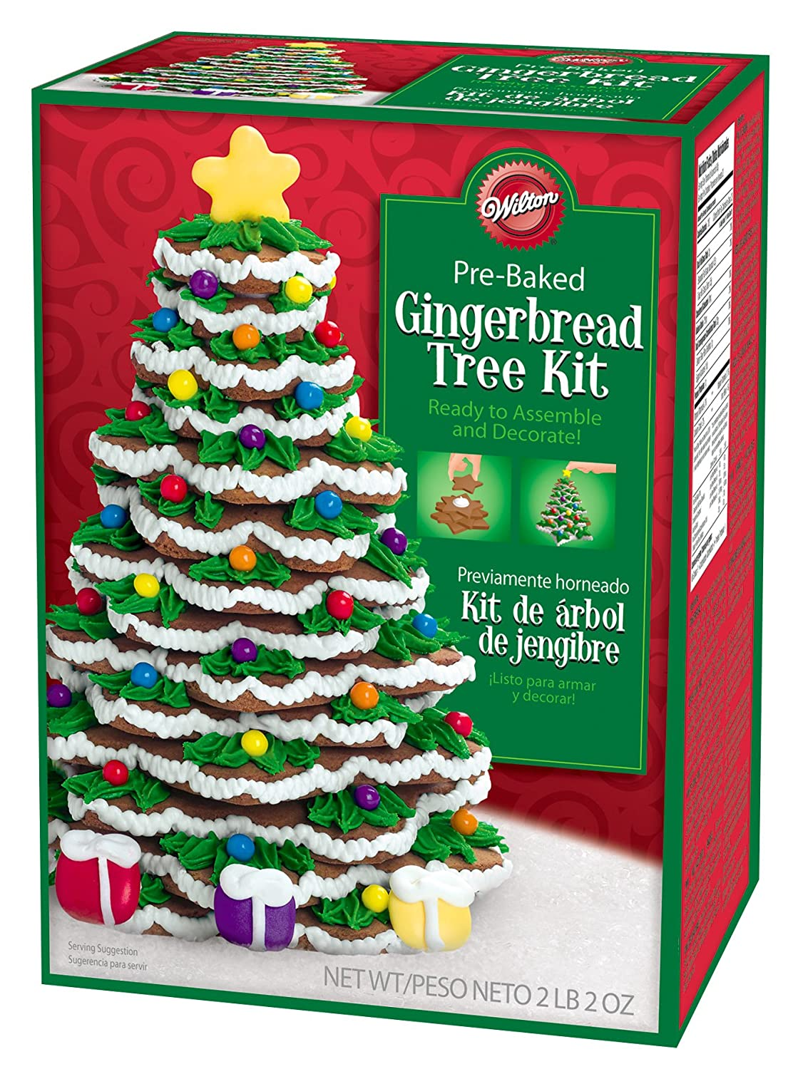 Lovely Amazon.com : Wilton Pre Baked Gingerbread Tree Kit : Cookie Mixes : Grocery  U0026 Gourmet Food