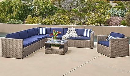 Amazon.com: Solaura - Juego de muebles de exterior de 6 ...