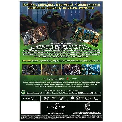 TMNT 2: El Secreto De Los Mocos Verdes [DVD]: Amazon.es ...