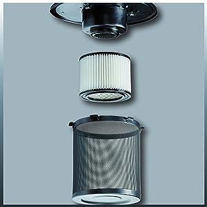Filtersystem des Einhell TC-AV 1250