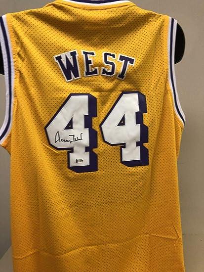 fa41c3307 Jerry West Signed Jersey - Bas Beckett 3 - Beckett Authentication - Autographed  NBA Jerseys