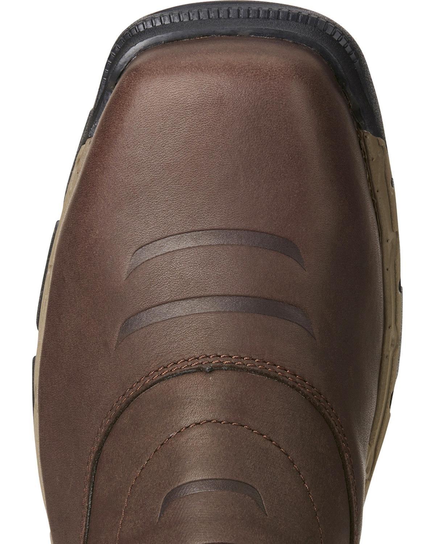 Ariat Men's Rebar Flex H2o Western Work Boot Composite Toe Brown 7.5 EE by Ariat (Image #3)