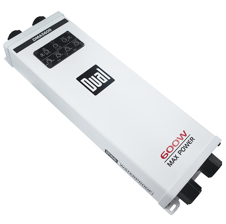 NAMSUNG ELECTRONICS - デュアルDMA5600 L 5チャンネル マリンアンプ   B06Y148424