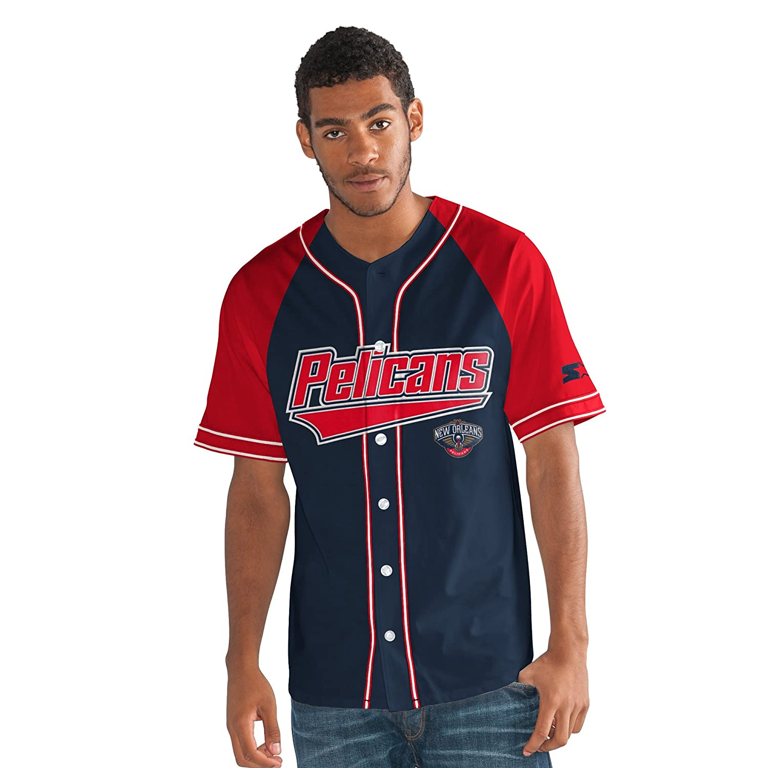 NBAメンズThe Player Baseball Jersey   B075CS6ZNK