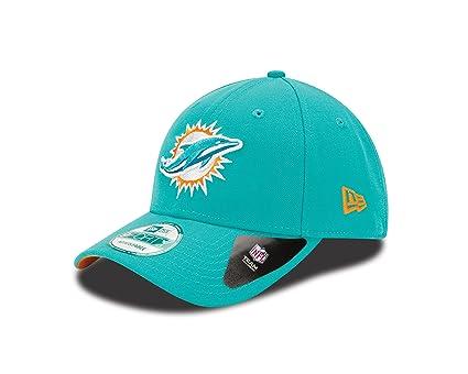 A NEW ERA Era 9forty Miami Dolphins Gorra de béisbol, Hombre, Turquoise (Team