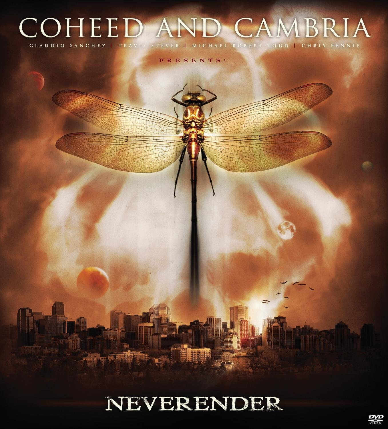 DVD : COHEED AND CAMBRIA - Neverender [explicit Content] (DVD)