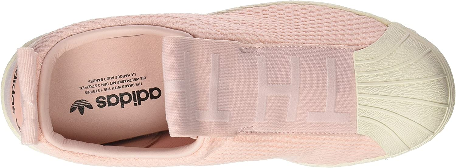 adidas Superstar Bw3s Slipon W, Chaussures de Fitness Femme Multicolore - Rose/Blanc Cassé (Icey Pink F17/Icey Pink F17/Off White)