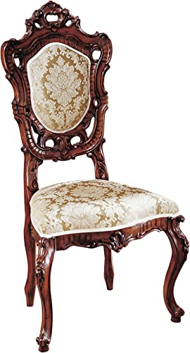 Design Toscano Toulon French Rococo Side Chair