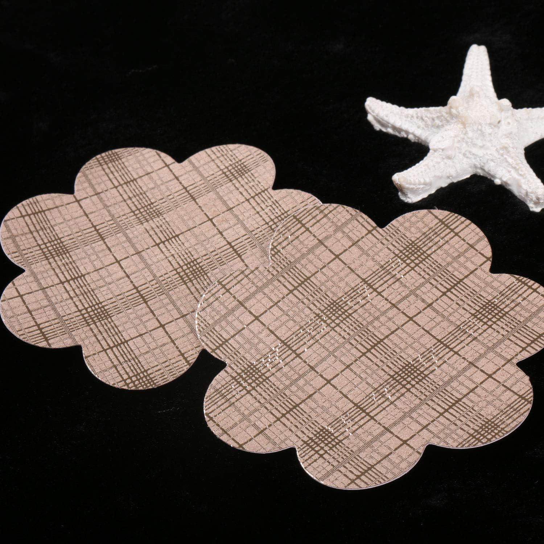 Ypser Nipple Cover Satin Pasties Disposable Self Adhesive Bra Pad Breast Petals