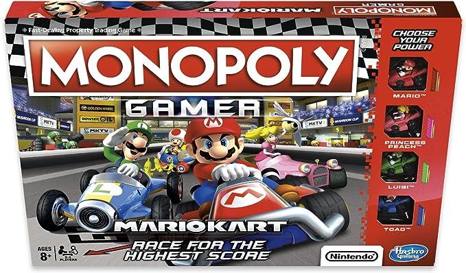 MONOPOLY E1870102 Gamer Mario Kart, multicolor, Inglesa: Amazon.es: Juguetes y juegos