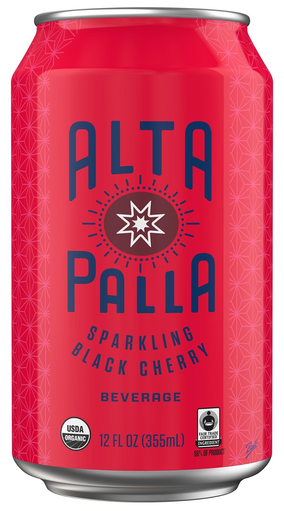 Amazon Alta Palla Organic Sparkling Water Wild Berry 12