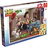 Disney Toy Story Jigsaw Puzzle includes Free Toy Story Stickers (50 Pieces)