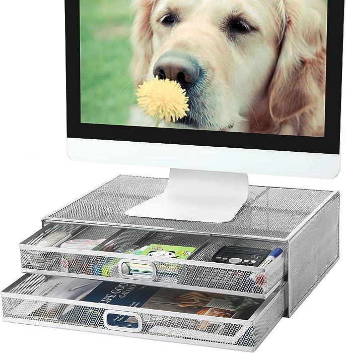 Top 10 Silver Mesh Desktop Organizer