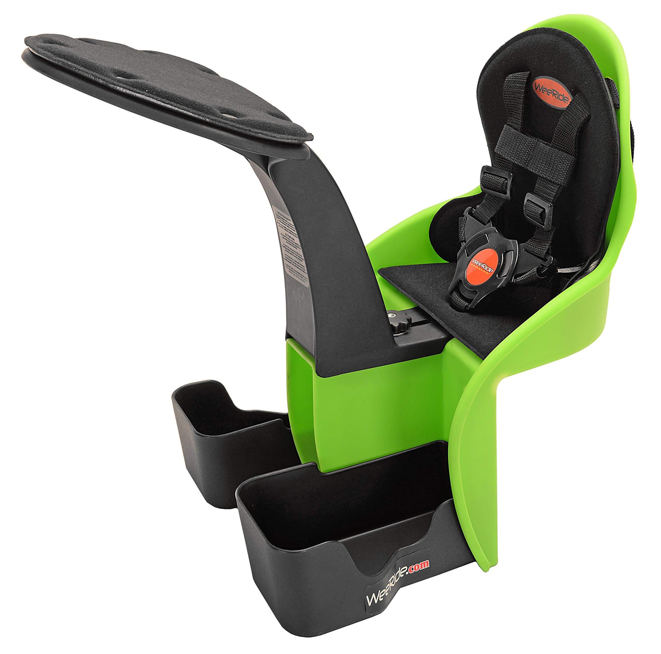 WeeRide Kangaroo Child Bike Seat, Green (Renewed)